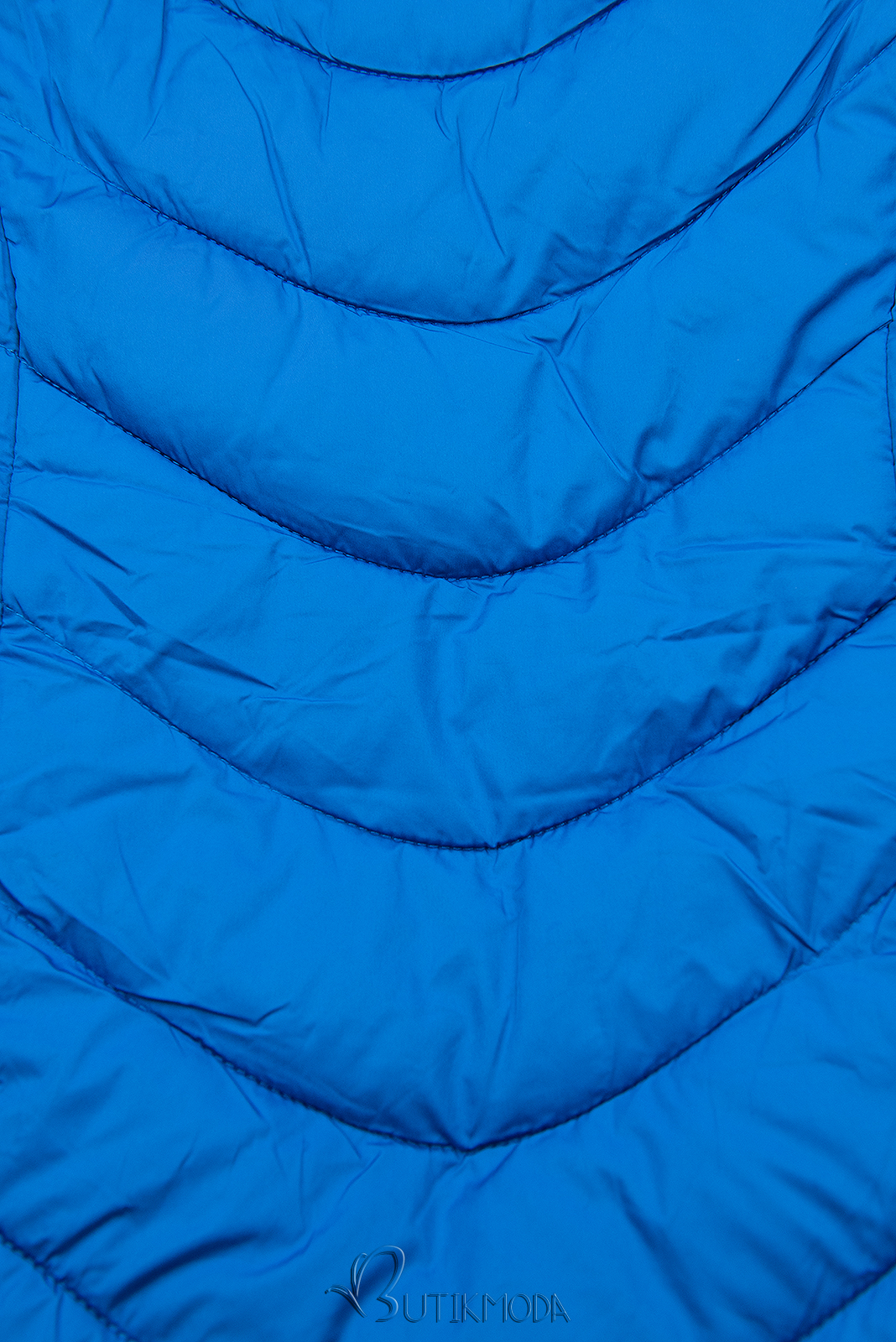 Winterjacke mit warmes Futter-Plüsch königsblau