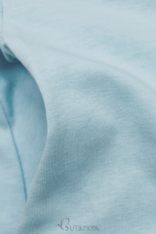 Bequemes KleidSUMMER babyblau