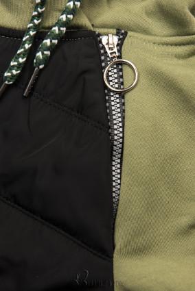 Hybrid Trainingsanzug khaki