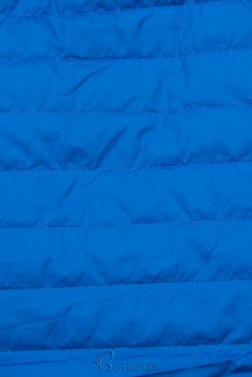 Steppjacke mit Futter - Plüschkönigsblau