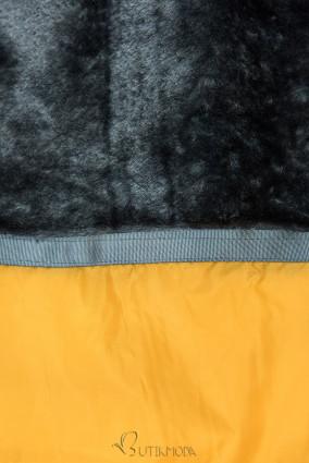 Gesteppte Winterjacke von LHD gelb